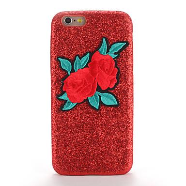 Για Θήκες Καλύμματα Με σχέδια Φτιάξτο Μόνος Σου Πίσω Κάλυμμα tok Λάμψη γκλίτερ Λουλούδι Σκληρή PC για Apple iPhone 7 Plus iPhone 7 iPhone