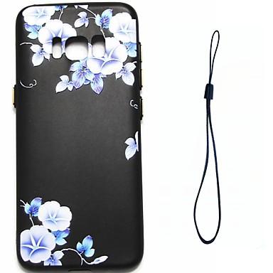 Hülle Für Samsung Galaxy S8 Plus S8 Beschichtung Muster Rückseitenabdeckung Blume Weich TPU für S8 S8 Plus S7 edge S7 S6 edge S6 S5