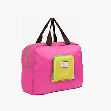 Geantă Călătorie Organizator Bagaj de Călătorie Portabil Pliabil Depozitare Călătorie Gros pentru Haine Nailon / Călătorie