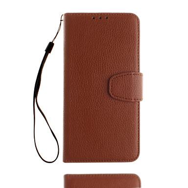 Etui Käyttötarkoitus Samsung Galaxy S8 Plus S8 Korttikotelo Lomapkko Tuella Flip Kokonaan peittävä Yhtenäinen väri Kova PU-nahka varten
