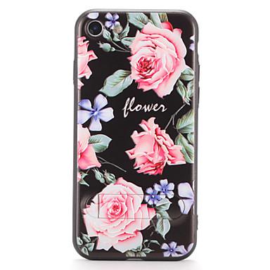 iPhone 7 7plus suojus jalustalla kuvio takakansi tapauksessa kukka kovaa pc 6s plus 6 plus 6s 6
