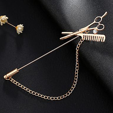 Heren Dames Broches Vintage Modieus Euramerican Legering Sieraden Voor Dagelijks gebruik Causaal Casual/Dagelijks