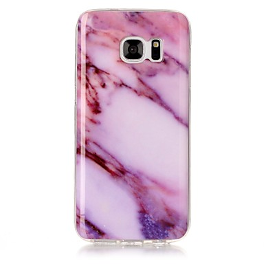 Hülle Für Samsung Galaxy S8 Plus S8 IMD Muster Rückseitenabdeckung Marmor Weich TPU für S8 S8 Plus S7 edge S7 S6 edge S6 S5 S4 S3