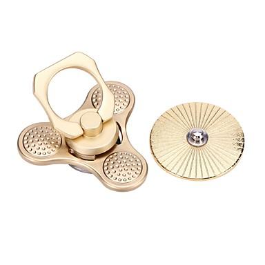 Fidget spinners Hand Spinner Draaitol Speeltjes Speeltjes Tri-Spinner Metaal EDC Stress en angst Relief Leren & Onderwijs