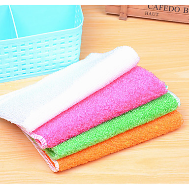 Gute Qualität Küche Wohnzimmer Badezimmer Auto Reinigungsbürste & Stoffe,Bambusfaser
