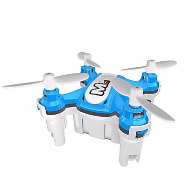 RC Dronă JJRC HY371 Blue 4CH 6 Axe 2.4G - Quadcopter RC Lumini LED Zbor De 360 Grade Planare Quadcopter RC Telecomandă Cablu USB Manual