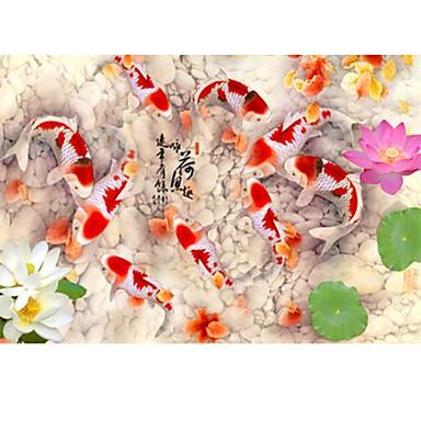 Legpuzzel Speeltjes Vierkant Nieuwigheid Eend Vissen Hout Unisex Stuks