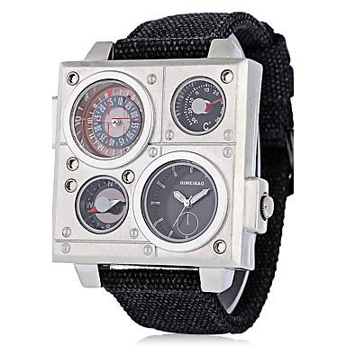 Χαμηλού Κόστους Ανδρικά ρολόγια-Ανδρικά Αθλητικό Ρολόι Στρατιωτικό Ρολόι Ρολόι Καρπού Χαλαζίας Μαύρο 30 m Ανθεκτικό στο Νερό Ημερολόγιο Δημιουργικό Αναλογικό Καθημερινό Μοντέρνα Κομψό Ρολόι Φορέματος Μοναδικό Watch Creative -