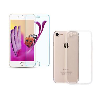 Displayschutzfolie Apple für iPhone 7 Hartglas 1 Stück Vorderer Bildschirmschutz Ultra dünn 2.5D abgerundete Ecken 9H Härtegrad High