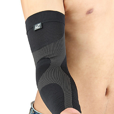 Unisex Ellbogen Bandage Dehnbar Schützend Stossfest Atmungsaktiv Einfaches An- und Ausziehen Videokompression Fußball Sport Alltag