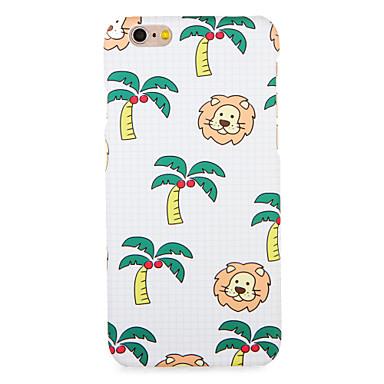 Hülle Für Apple iPhone 7 Plus iPhone 7 Muster Rückseite Herz Baum Tier Hart PC für iPhone 7 Plus iPhone 7 iPhone 6s Plus iPhone 6s iPhone