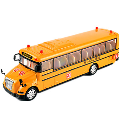 Spielzeug-Autos Fahrzeuge aus Druckguss Aufziehbare Fahrzeuge Lastwagen Spielzeuge Simulation Auto Bus Metalllegierung Stücke Unisex
