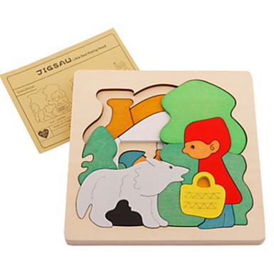 قطع تركيب3D النماذج الخشبية حيوان لهو خشب كلاسيكي