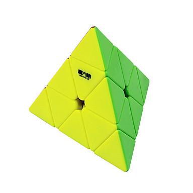 Rubiks kubus QI YI QIMING 174 Pyramid Soepele snelheid kubus Magische kubussen Puzzelkubus stickerloze Geschenk Unisex