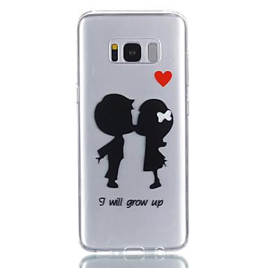 Custodia Per Samsung Galaxy S8 Plus / S8 Fantasia / disegno Per retro Con cuori Morbido TPU per S8 Plus / S8 / S7 edge