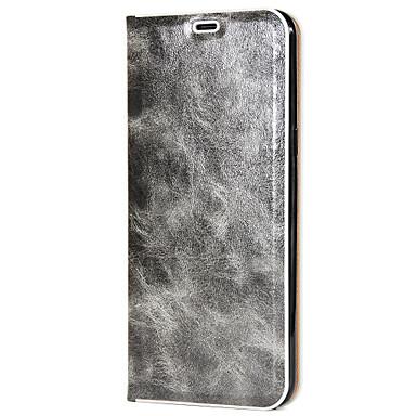 Hülle Für Samsung Galaxy S8 Plus S8 Kreditkartenfächer Flipbare Hülle Magnetisch Handyhülle für das ganze Handy Volltonfarbe Hart