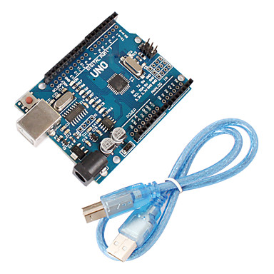 Improved Version UNO R3 ATMEGA328P Board Compatible for Arduino