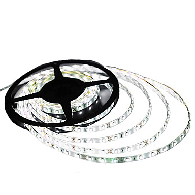 36W شرائط قابلة للانثناء لأضواء LED lm DC12 V 5 م 300 الأضواء أبيض دافئ أبيض