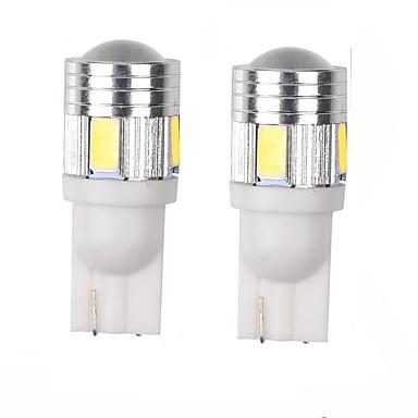 3w wit blauw rood geel groen paars dc12v t10 5630 6smd len deur lamp inspectielampje kenteken licht licht licht 2 stuks