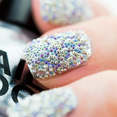 Kaviar Perlen Klassisch Gute Qualität Alltag Nagel-Kunst-Design