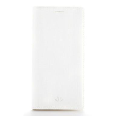hoesje Voor Samsung Galaxy A7(2017) A5(2017) Kaarthouder met standaard Flip Volledige behuizing Effen Kleur Hard PU-leer voor A5 (2017)