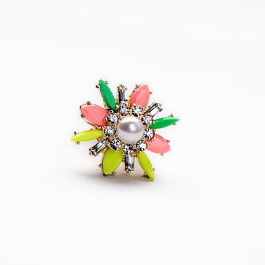Dames Ring Uniek ontwerp Modieus Euramerican Legering Sieraden Voor Bruiloft Feest Verjaardag