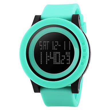 זול שעונים חכמים-חכמים שעונים YYSKMEI1142 ל עמיד במים / רב שימושי / ספורטיבי שעון עצר / Alarm Clock / כרונוגרף / לוח שנה / אזור זמן כפול