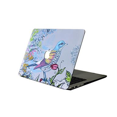 MacBook Hoes voor Bloem / dier PVC Nieuwe MacBook Pro 15
