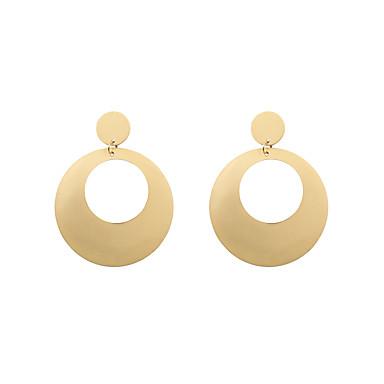 Damen Tropfen-Ohrringe Schmuck Personalisiert Kreisförmiges Modisch Euramerican Aleación Kreisform Schmuck Weihnachts Geschenke Hochzeit
