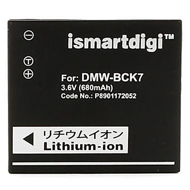 Estemartdigi bck7 3.6v 680 mAh acumulator camera pentru panasonic dmw-bck7gk s1 s3 fh2 fh4 fh6 fh8 fh27