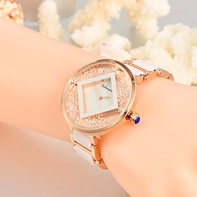 Pentru femei Unic Creative ceas Ceas Casual Ceasuri din Cristal Ceas La Modă Ceas de Mână Quartz Aliaj Plastic Bandă Charm Lux Creative