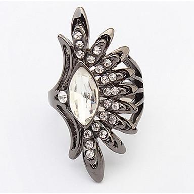 للرجال للمرأة خاتم الماس الاصطناعية تصميم بسيط تصميم فريد ستايل الشعار هيب هوب Rock اسلوب لطيف euramerican في اعمله بنفسك فيكتوريا بيان