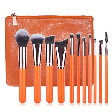 Brush Sets Blushkwast Oogschaduwkwast Lippenkwast Wenkbrauwkwast Wimperkwast Verfkwast Eyelash Brush Concealerkwast Poederkwast