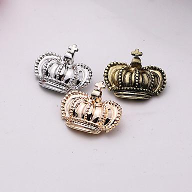 للرجال للمرأة دبابيس قديم موضة euramerican في سبيكة Crown Shape مجوهرات من أجل لباس يومي فضفاض كاجوال/يومي
