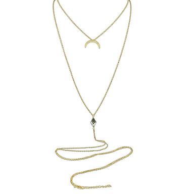 Damen Grundlegend Halsketten Aleación Halsketten . Normal