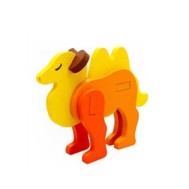 Puzzle 3D Jucarii Animale Lemn Unisex Bucăți