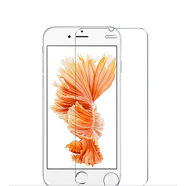 حامي الشاشة إلى Apple iPhone 6s Plus زجاج مقسي 1 قطعة حامي شاشة أمامي و خلفي (HD) دقة عالية 9Hقسوة 2.5Dحافة منعظفة انفجار برهان نحيل جداً