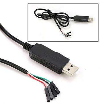 Pl2303hx usb to ttl to uart rs232 com conversor de módulo de cabo
