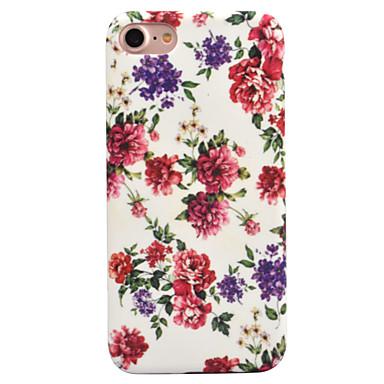من أجل إفون 8 iPhone 8 Plus أغط / كفرات نموذج غطاء خلفي غطاء زهور قاسي PC إلى Apple iPhone 8 Plus iPhone 8 فون 7 زائد فون 7 iPhone 6s