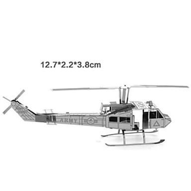 Speelgoedauto's 3D-puzzels Legpuzzel Metalen puzzels Tank Vliegtuig 3D Plezier Hout Metaal Klassiek