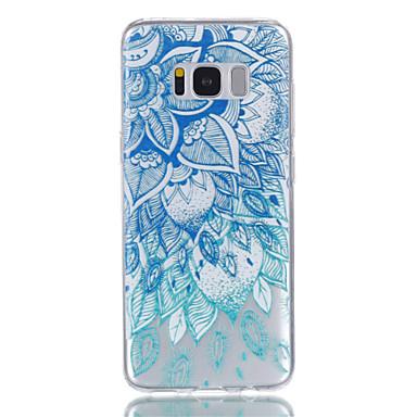 hoesje Voor Samsung Galaxy S8 Plus S8 Transparant Patroon Achterkantje Mandala Zacht TPU voor S8 S8 Plus S7 edge S7 S6 S5
