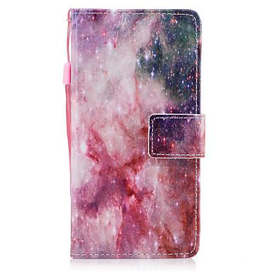 Pentru huawei p8 lite (2017) p10 coperta casei stele model pictat pu piele material card stent portofel telefon caz p10 plus p10 lite