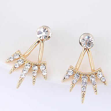 Dames Oorknopjes Bergkristal Modieus Euramerican Legering Geometrische vorm Sieraden Voor Dagelijks Causaal 1 Paar