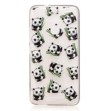 Pentru asus zenfone 3 max zc520tl caz acoperă panda model spate acoperi moale tpu