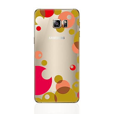 غطاء من أجل Samsung Galaxy S8 Plus S8 شفاف نموذج غطاء خلفي نموذج هندسي ناعم TPU إلى S8 Plus S8 S7 edge S7 S6 edge plus S6 edge S6 S5 S4