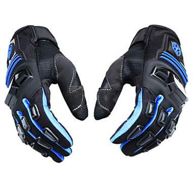 Nylon Kunstfaser Mix Motorräder Handschuhe