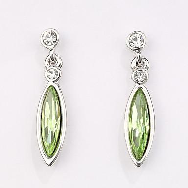 Cercei Set Bijuterii La modă Personalizat Euramerican Cristal Aliaj Bijuterii Bijuterii Pentru Nuntă Petrecere 1 Pair