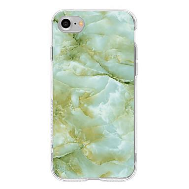 hoesje Voor Apple iPhone 7 Plus iPhone 7 Patroon Achterkant Marmer Zacht TPU voor iPhone 7 Plus iPhone 7 iPhone 6s Plus iPhone 6s iPhone