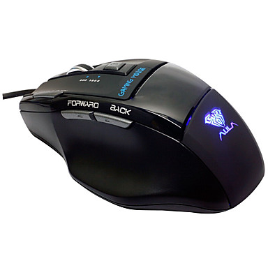 Aula kill soul ice edition 7d professionele gaming muis zwarte editie gaming muis