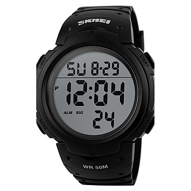 Heren Digitaal horloge Unieke creatieve horloge Polshorloge Smart horloge Dress horloge Modieus horloge Sporthorloge Chinees Digitaal